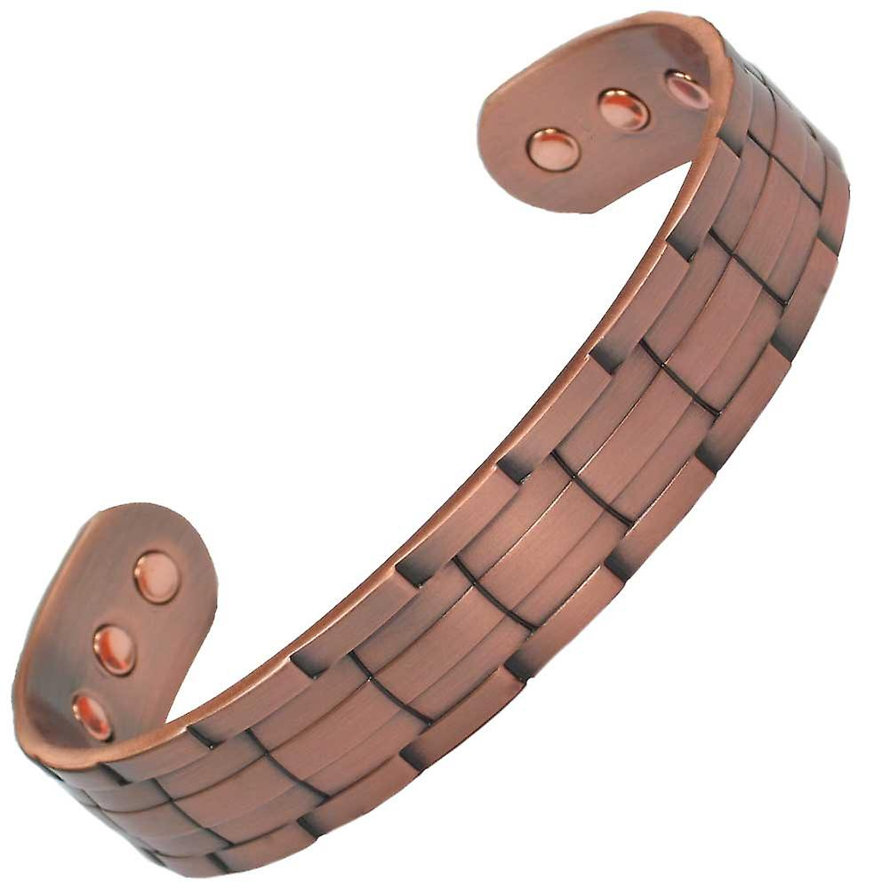 MPS® NORAD Pure Copper Magnetic Bangle with 6 Magnets with Luxury Gift Pouch