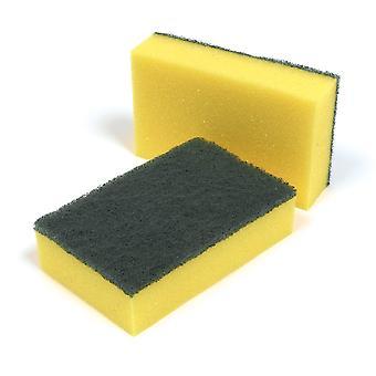 Country Range Sponge Scourers 14cm x 9cm