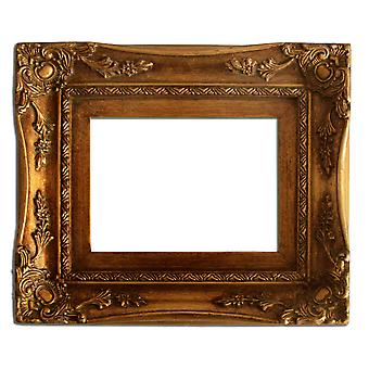 25x30 cm or 10x12 inches, photo frame in gold