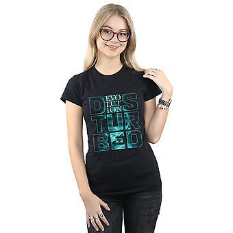 Disturbed Women's Stacked Evolution T-Shirt