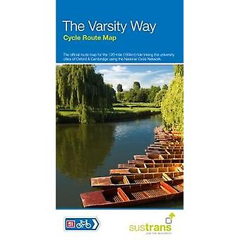 The Varsity Way Cycle Route Map - NCN 51 Oxford to Cambridge by Sustr