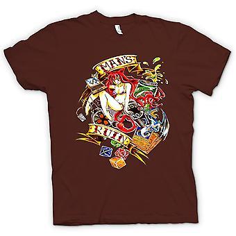 Kids T-shirt - Modern Man's Ruin - Pinup Girl