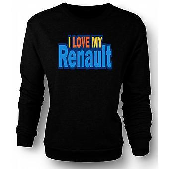 Kinderen Sweatshirt ik hou van mijn Renault - auto liefhebber