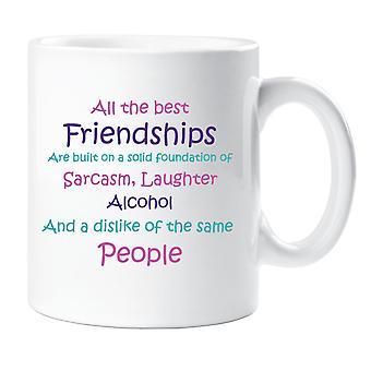 All the Best Friendships Mug
