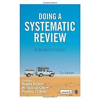 Haciendo una revisión sistemática: Guía del estudiante