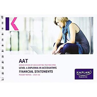 Financial Statements - Pocket Notes