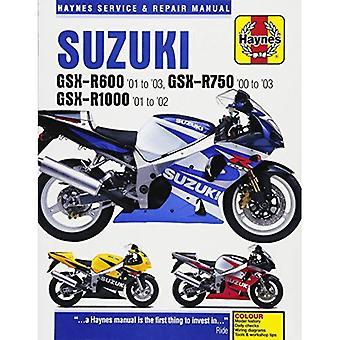 Suzuki GSX-R600, R750 & R1000 Service and Repair Manual (Haynes Service & Repair Manual)