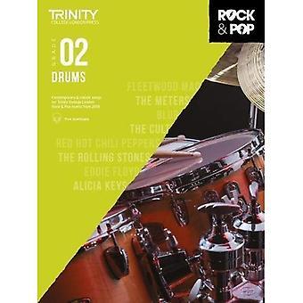 Trinity Rock & Pop 2018 Drums Grade 2 - Trinity Rock & Pop 2018 (bladmuziek)