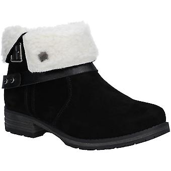 Fleet & Foster Womens/Ladies Leather Soda Ankle Boots