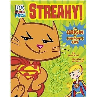 Randig: Ursprunget till Supergirls katt (DC Super husdjur: DC Super husdjur ursprung berättelser)