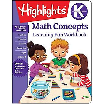 Math Concepts: Highlights Hidden Pictures (Highlights Learning Fun Workbooks)