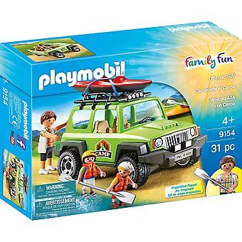 Playmobil 9154 Leisure kamp Off-Road voertuig