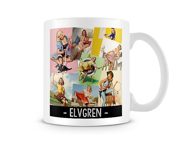 PinUp Elvgren Popular Images Mug