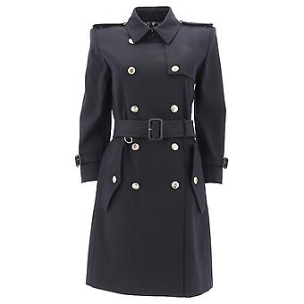 Givenchy Blue Cotton Trench Coat