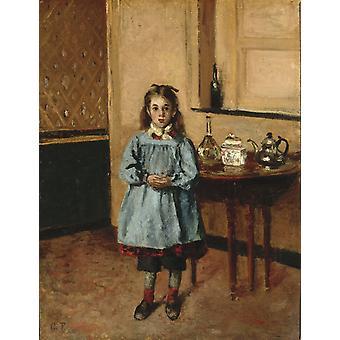 Minette,Camille Pissarro,50x38cm