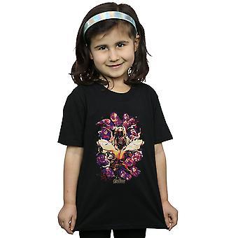 Marvel Girls Avengers Endgame Movie Splatter T-Shirt