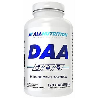 Allnutrition DAA 120 Capsules (Sport , Muscle mass , Natural anabolics)