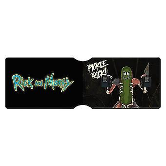 Rick et Morty Pickle Rick porte-carte