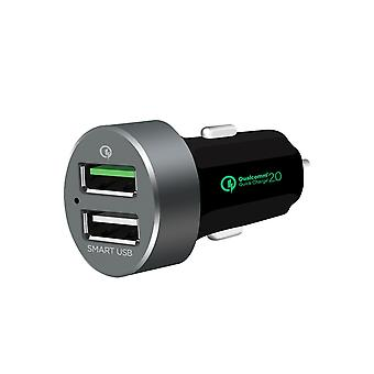mbeat QuickBoost S Dual Port Smart USB Car Charger