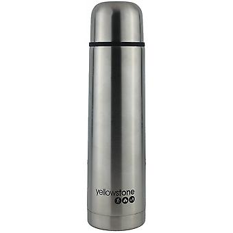 Yellowstone 500ml Stainless Steel Flask Silver