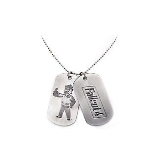 Fallout 76 Dog Tag Unisex One Size Silver (JE720208FAL)