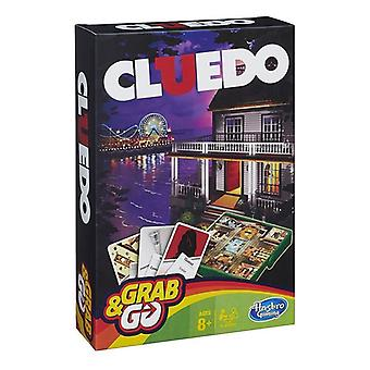 Hasbro Gaming Grab And Go Cluedo Game Perfect For Traveling Travel Games