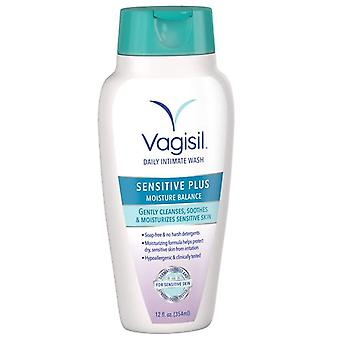 Vagisil moisturizing wash, light & gentle, 12 oz