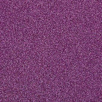Craft Perfect av tonic Studios A4 glitter kort nebulosa lila