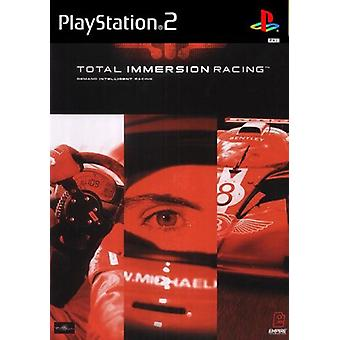 Total Immersion Racing (PS2) - Factory Sealed