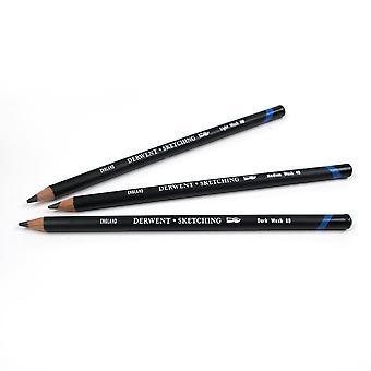 Derwent Water Soluble Sketching Pencil (4B)
