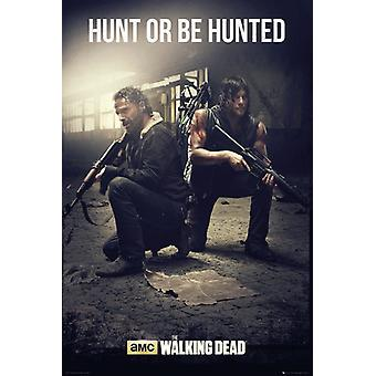 Das The Walking Dead jagen Maxi Poster 61x91.5cm