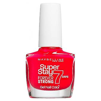 Maybelline Forever Strong Super Stay Gel Nail 7 Day Wear - Rose Salsa 10ml (490)