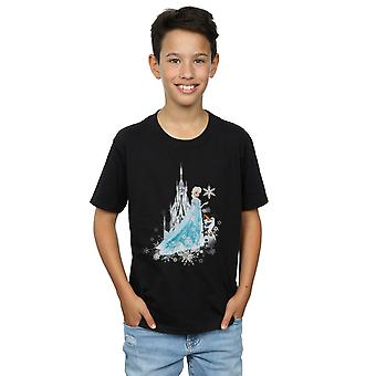 Disney Boys Frozen Elsa And Olaf Winter Magic T-Shirt