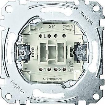 Merten einfügen Leistungsschalter, Kippschalter System M, Systembereich, Aquadesign MEG3116-0000