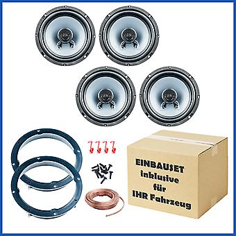 VW Golf 4 and Golf 6 speaker Kit door front and rear