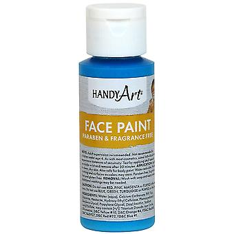 Handy Art Face Paint 2oz-Turquoise 558-35
