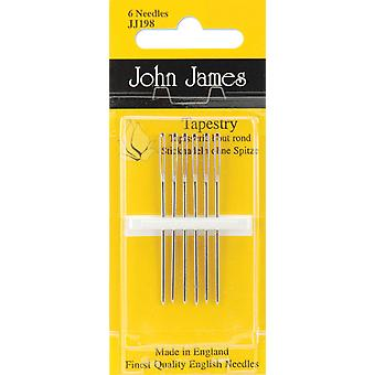 Gold Tapestry Hand Needles Size 24 3 Pkg Jg198 24