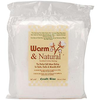 Warm & Natural Cotton Batting Craft Size 34