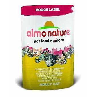 Almo nature Chicken Fillet and Cheese (Cats , Cat Food , Wet Food)