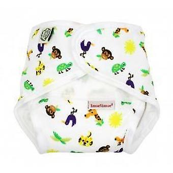 Imsevinse Nappy All In One Zoo M 8-11 Kg (Jeugd , Nappies and Changers , Nappies)