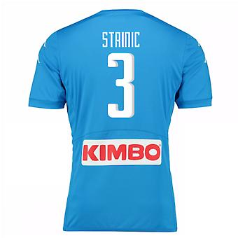 2016-17 Napoli Authentic Home Shirt (Strinic 3)