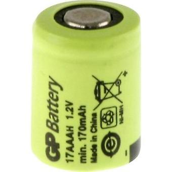 Non-standard battery (rechargeable) 1/3 AAA Flat top NiMH GP Batteries GP17AAAH 1.2 V 170 mAh