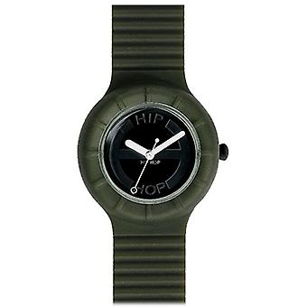Hip Hop clock silicone Hero HWU0019 small olive green