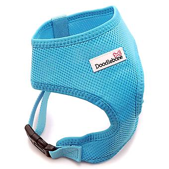 Doodlebone Mesh Harness Cyan Medium 36-48cm