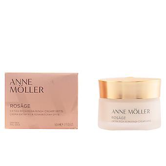Anne Möller Rosage Extra-rich Repairing Cream Spf15 50 Ml For Women