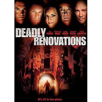 Dødbringende renoveringer [DVD] USA importerer
