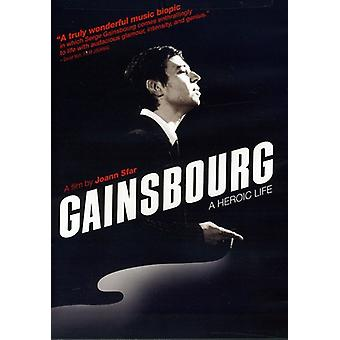 Gainsbourg: En heroisk liv [DVD] USA importerer