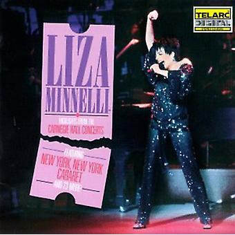 Liza Minnelli - faits saillants-Carnegie Hall Cts. [CD] USA import