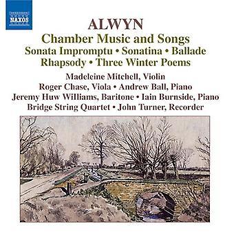 Alwyn W. - William Alwyn: importation de musique de chambre et chansons [CD] é.-u.