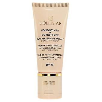 Collistar Foundation And Concealer Total Perfection 01 Ivory 30 ml